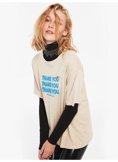 Twist Tişört Taş